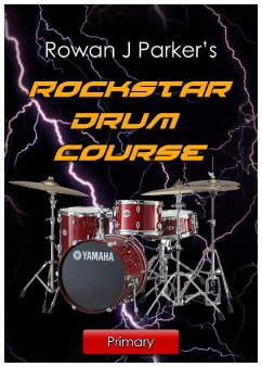 Rockstar Drum Course Primary