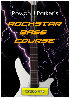 Rockstar Graded Bass Guitar Grade Five