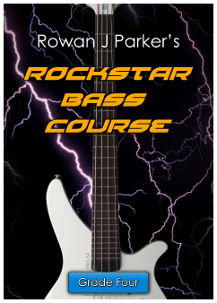 Rockstar Graded Bass Guitar Grade Four
