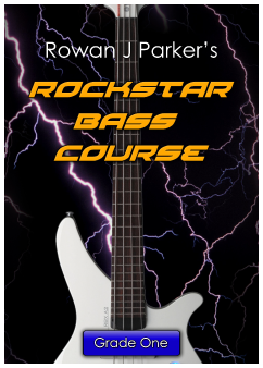 Rockstar Graded Bass Guitar Grade One