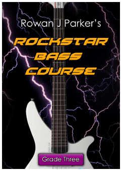 Rockstar Graded Bass Guitar Grade Three